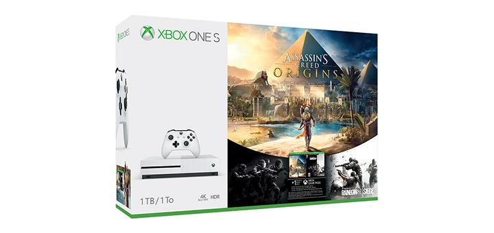Xbox One S Assassin's Creed Origins Bundle