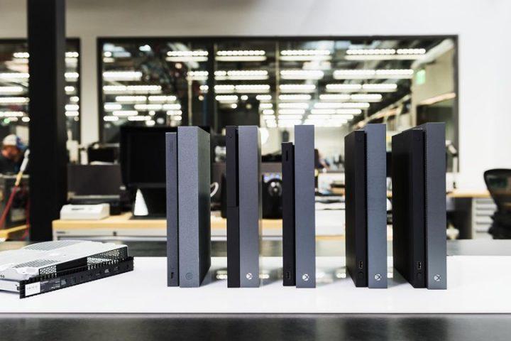 Xbox One X Design Prototypes