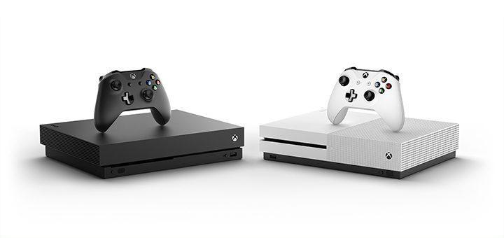 Xbox One X a Xbox One S