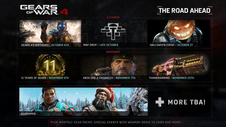 Gears of War 4 The Road Ahead