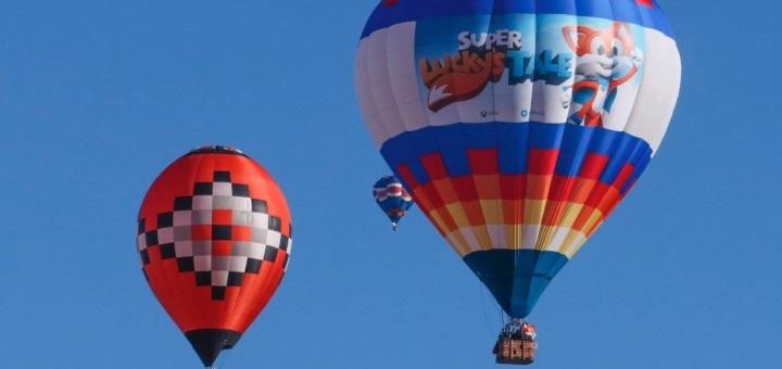 Super Lucky's Tale balon