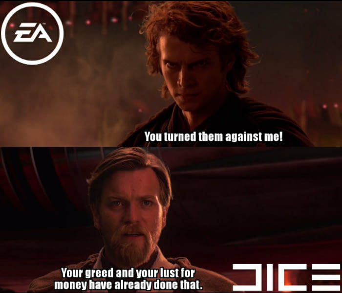 Battlefront 2 DICE vs EA
