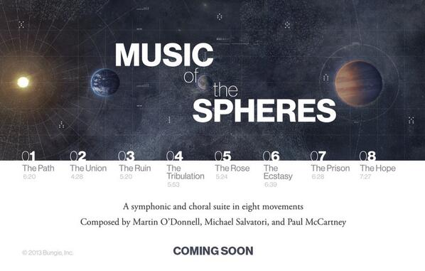 Music of the Spheres Postcard