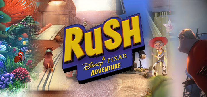 Rush Disney Pixar Adventure