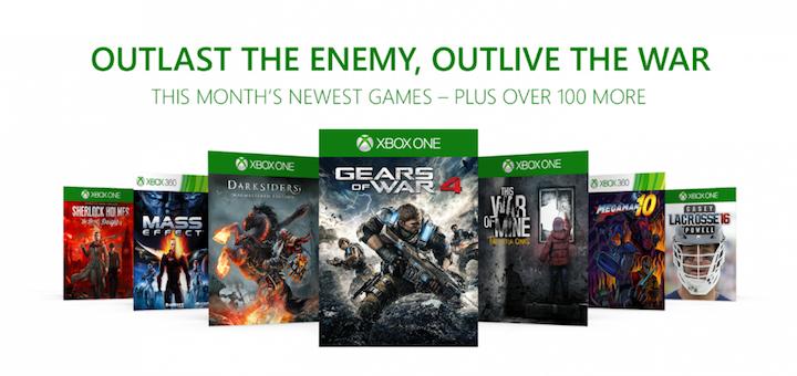 Xbox Game Pass December 2017