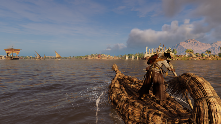 Assassin's Creed Origins Water