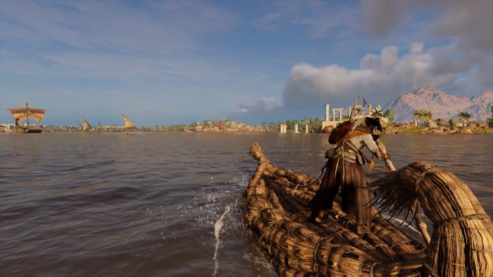 Assassin's Creed Origins Water