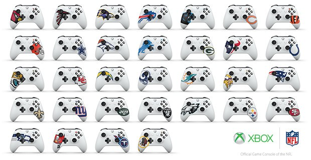 nfl controllers xbox one