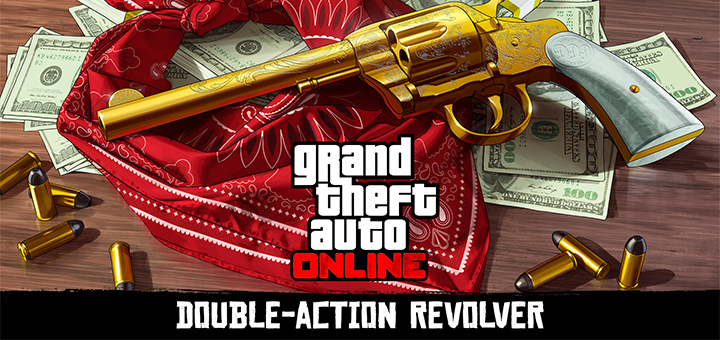 GTA Online Double Action Revolver