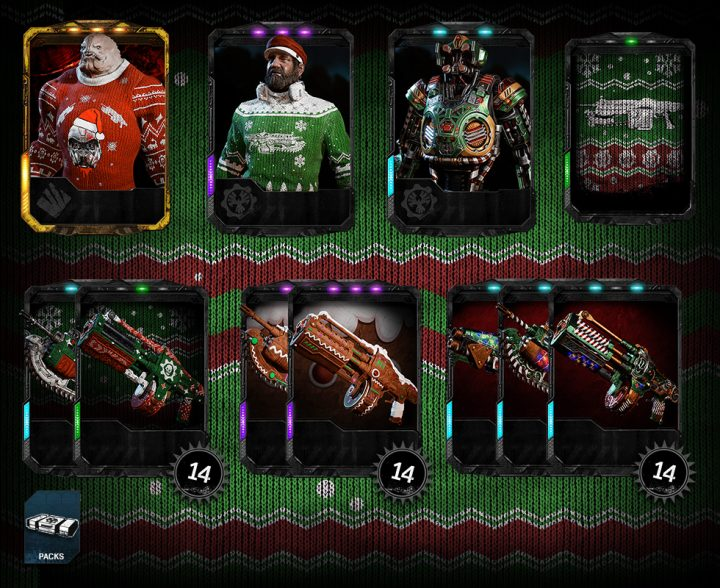 Gearsmas Holiday Gear Pack 2017