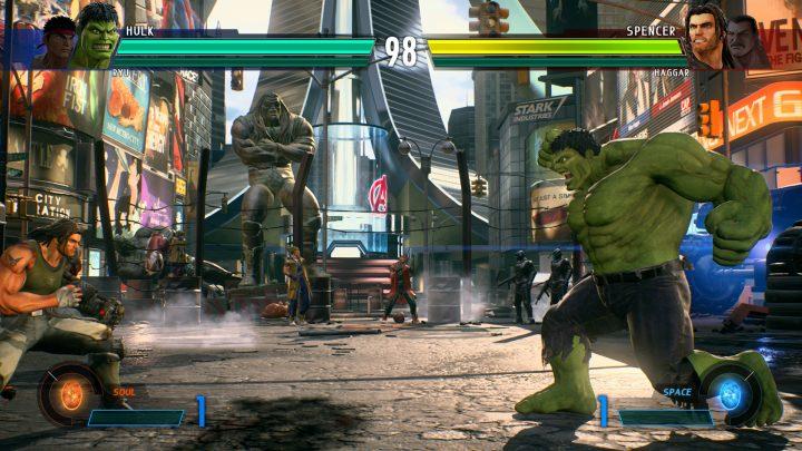 Marvel vs Capcom Infinite