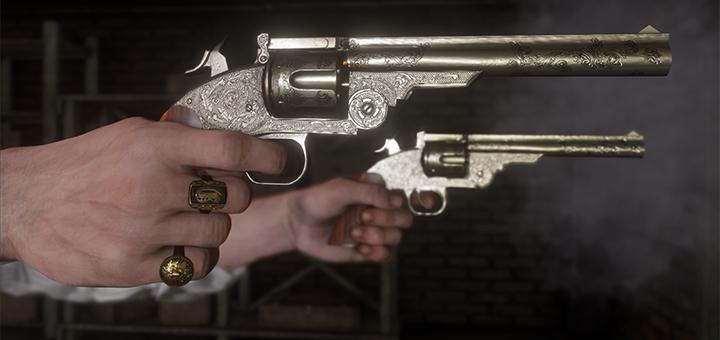 Revolver Red Dead Redemption 2