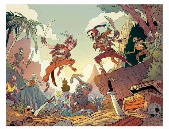Sea of Thieves Comic Art