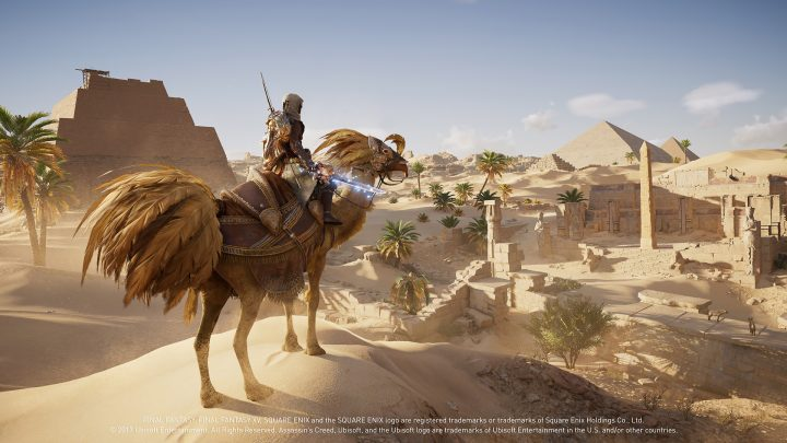 Assassin's Creed Origins X Final Fantasy