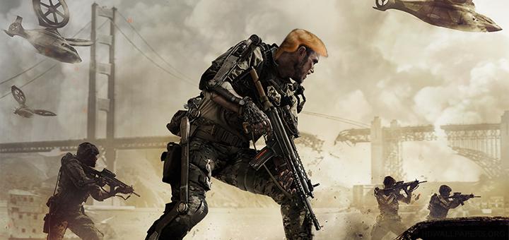 Call of Duty Advanced Trumpfare
