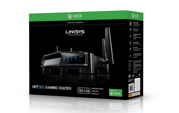 Linksys WRT32XB Packaging