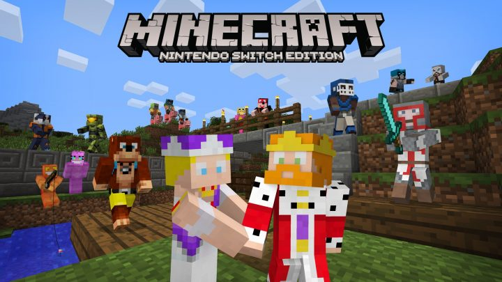 Minecraft Switch Skin Pack 1