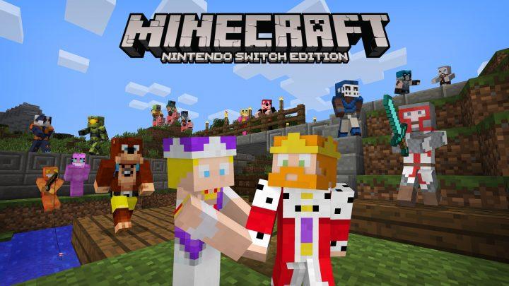 Minecraft Switch Skin Pack 1
