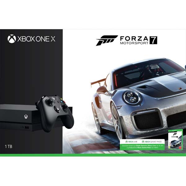 Xbox One X 1TB Forza Motorsport 7 Bundle