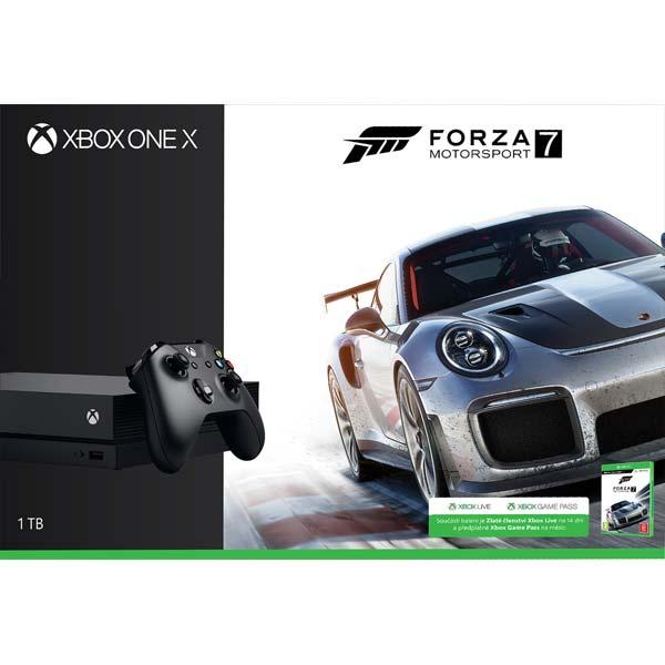 Xbox One X 1TB Forza Motorsport 7 Bundle