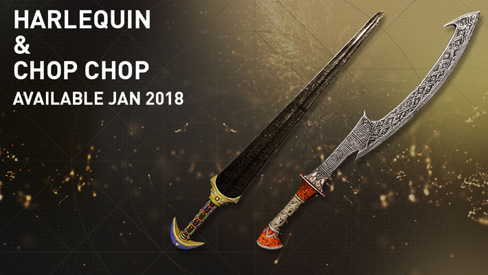 Assassin's Creed Origins Harlequin Chop Chop