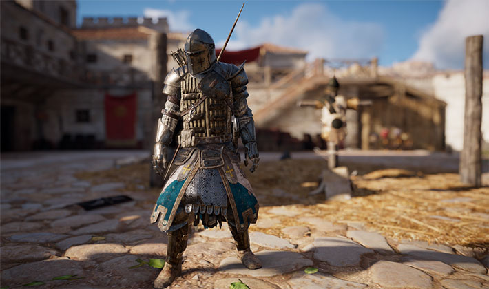 Assassin's Creed Origins Warden Oath Outfit