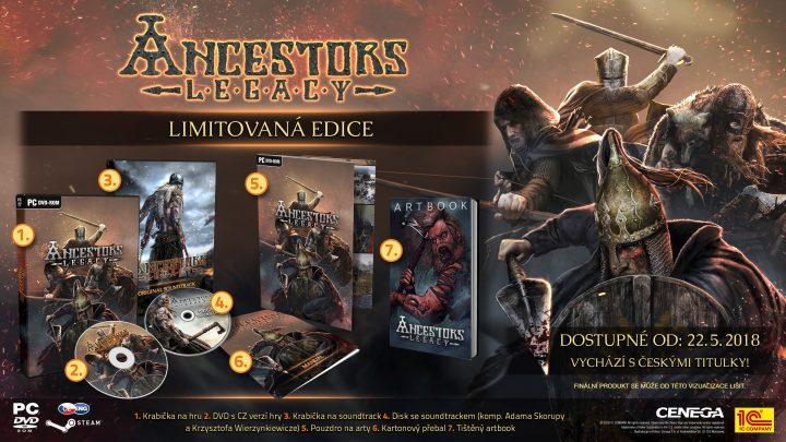 Ancestors Legacy Limitovana Edice PC