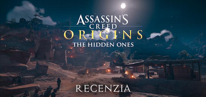 Assassin's Creed Origins The Hidden Ones Recenzia