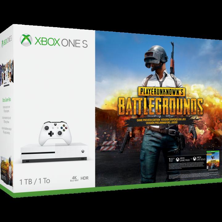Xbox One S PUBG Bundle