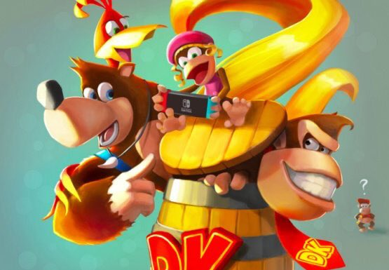 Banjo Kazooie Smash Bros
