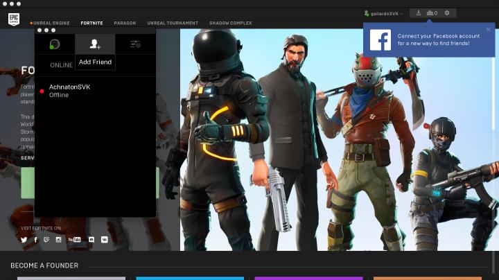 Epic Games Launcher Crossplay