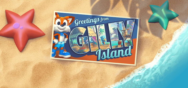 Gilly Island Super Lucky's Tale
