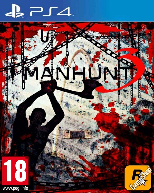 Manhunt 3 Leaked Cover
