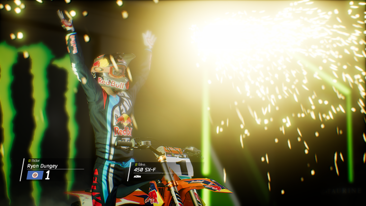 Monster Energy Supercroxs Ryan Dungey
