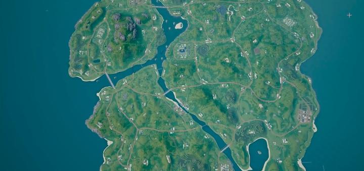 PUBG 4x4 Map