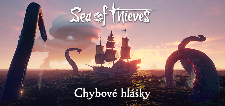 Sea of Thieves chybove hlasky