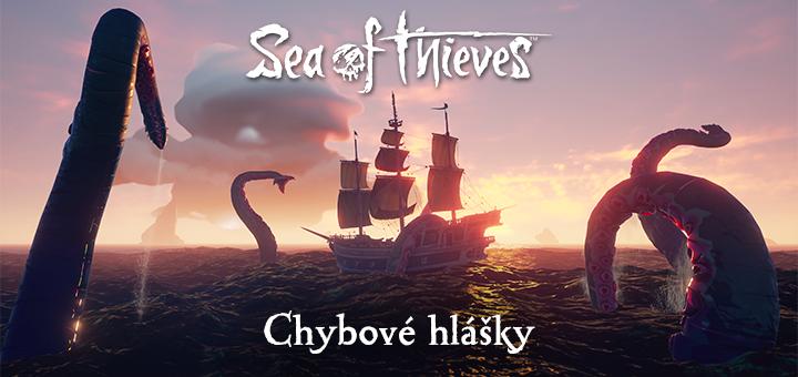 Sea of Thieves chybove hlasky