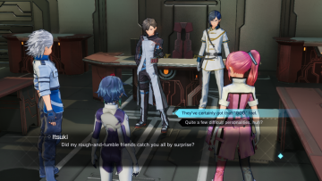 Sword Art Online Fatal Bullet Dialog