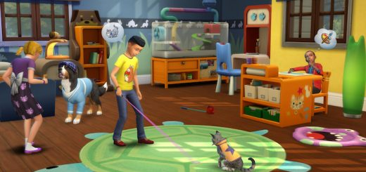 The Sims 4 My First Pet Stuff