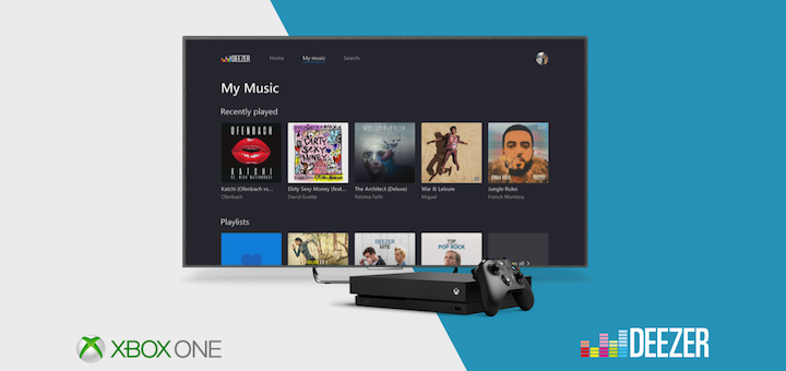 Xbox One Deezer