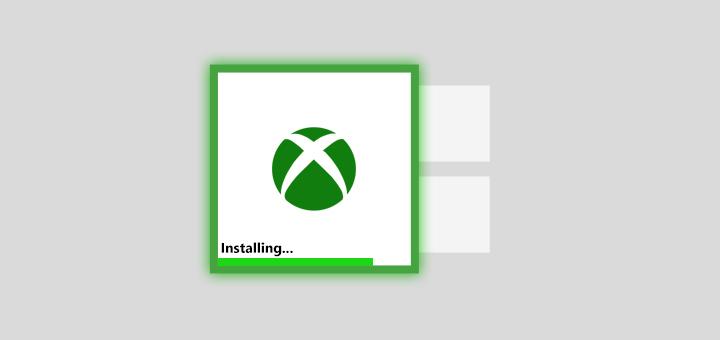 Xbox One Installing