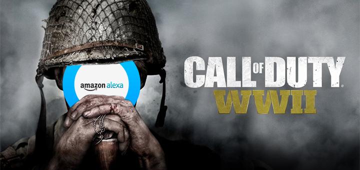 Call of Duty WWII Amazon Alexa