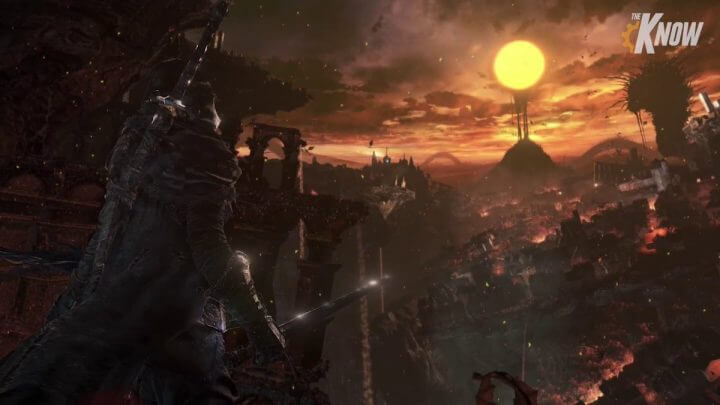 Dark Souls 3 Mysterious Pre-Release Screenshot