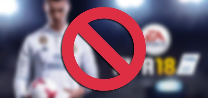 FIFA 18 Forbidden