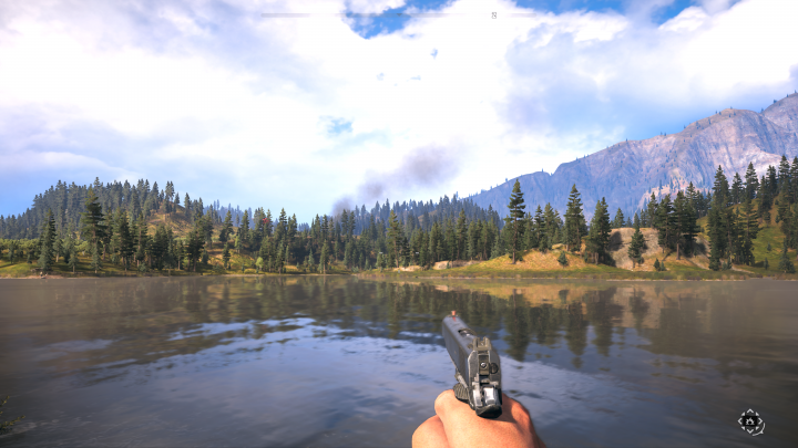 Far Cry 5 Draw Distance Xbox One X