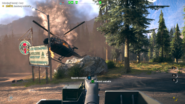 Far Cry 5 Helicopter