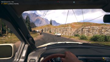 Far Cry 5 Inside Vehicle