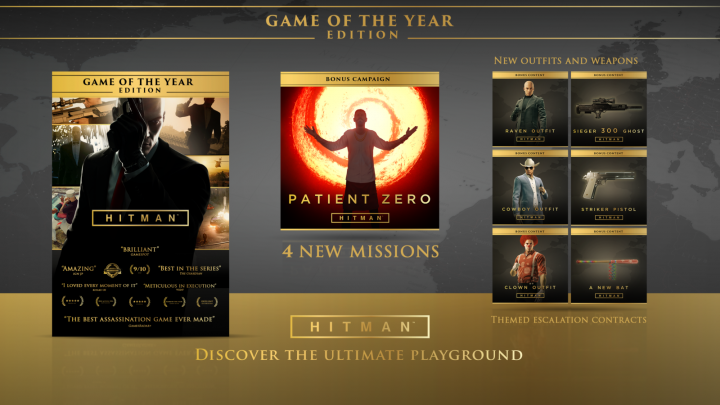 HITMAN Game of the Year Edition Overview