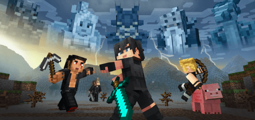 Minecraft Final Fantasy XV Mashup Pack