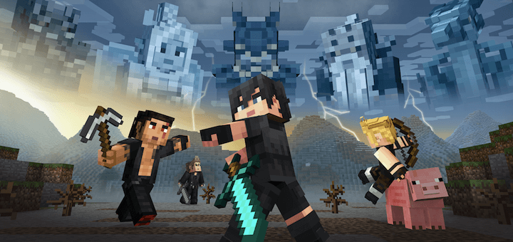 Minecraft Final Fantasy XV Mashup Pack